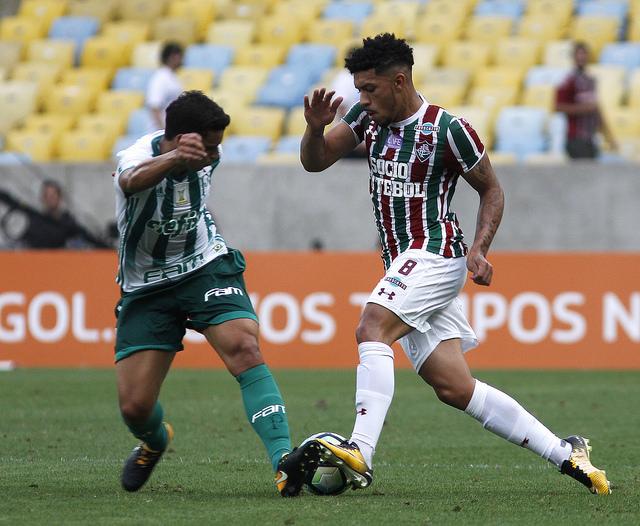 Partida no Maracanã teve a presença de pouco mais de 13 mil torcedores (Foto: Fluminense/Divulgação)
