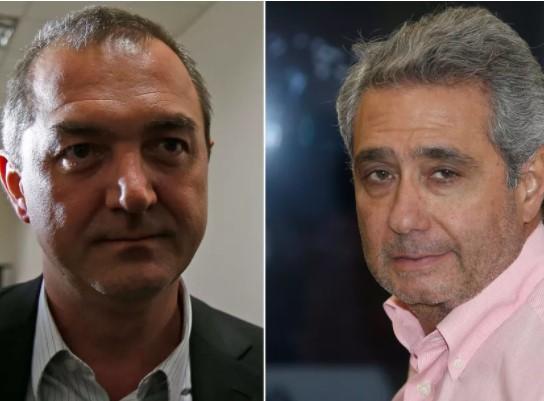 Joesley Batista e Ricardo Saud, delatores da JBS (Foto: Imagem TV/GloboNews/Reprodução)