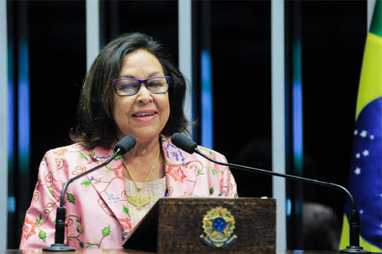Senadora Lídice da Mata (PSB-BA) (Foto: Agêncua Senado/Divulgação)