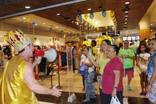 O shopping preparou diversas ações especiais para os clientes até domingo.