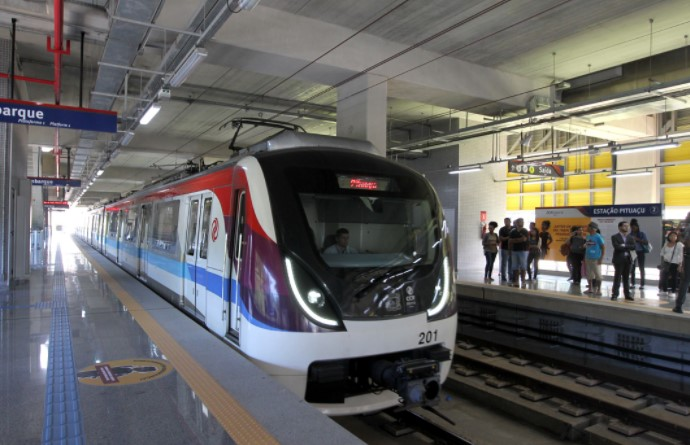 Após fase de teste, o metrô chega definitivamente à Estação de Mussurunga na segunda-feira, dia 11.