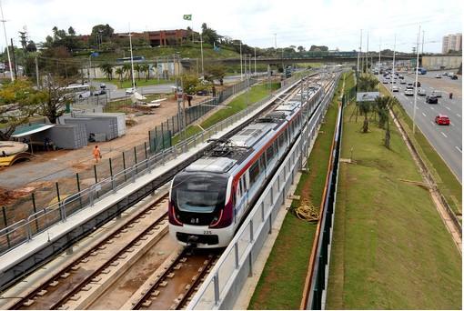 Metrô intensifica testes para a Estação Mussurunga (Foto: Camila Souza/GOVBA)