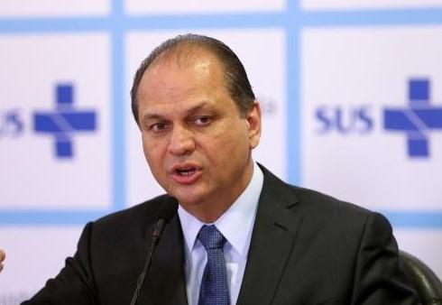 Ministro da Saúde, Ricardo Barros.