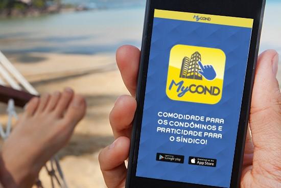 """O aplicativo  """"MyCond"""" se propõe a ser  um aliado na administração do condomínio."""