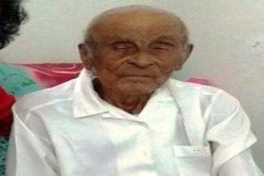 Zózimo Salvador completou 115 anos