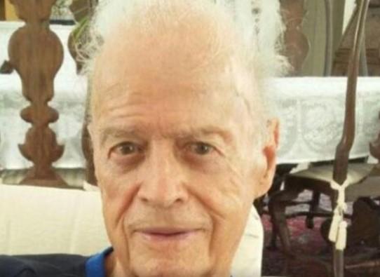 Pedro Irujo, 87 anos, estava internado no Hospital da Bahia. (Foto: Reprodução/Facebook)