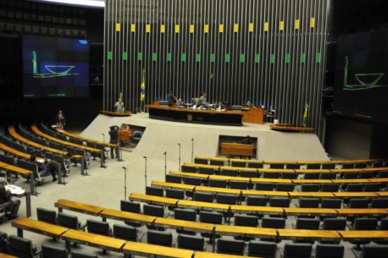 Sem quorum, Câmara adia novamente leitura da denúncia contra o presidente Temer (José Cruz/Agência Brasil)