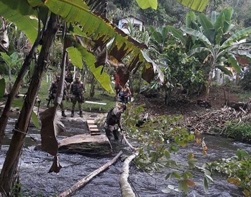Os estudantes se perderam na Trilha das Andorinhas, local muito procurado pelos turistas em Ituberá. (Foto: SSP/Divulgação)