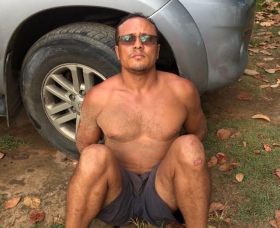 """Márcio Reis dos Santos, conhecido como """"Bradok"""""""