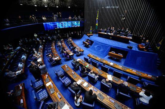 Foram 44 votos contra e 26 a favor das medidas cautelares impostas pela Primeira Turma da Corte. (Foto: Agência Senado)