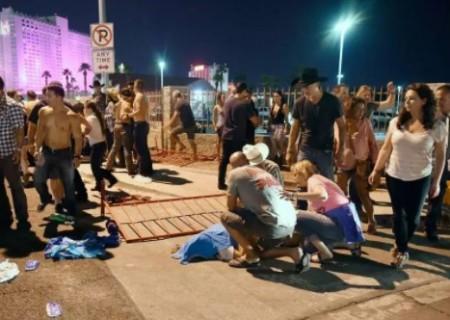 Criminoso abriu fogo contra uma multidão de mais de 22 mil pessoas que assistiam a um show. (Foto: Twitter/Reprodução)
