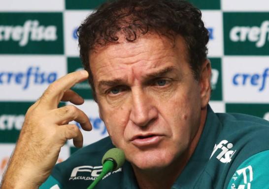 Campeão brasileiro em 2016, Cuca encerra sua segunda passagem pelo Palmeiras sem títulos este ano. (Foto: Cesar Grecco/Agência Palmeiras/Divulgação)