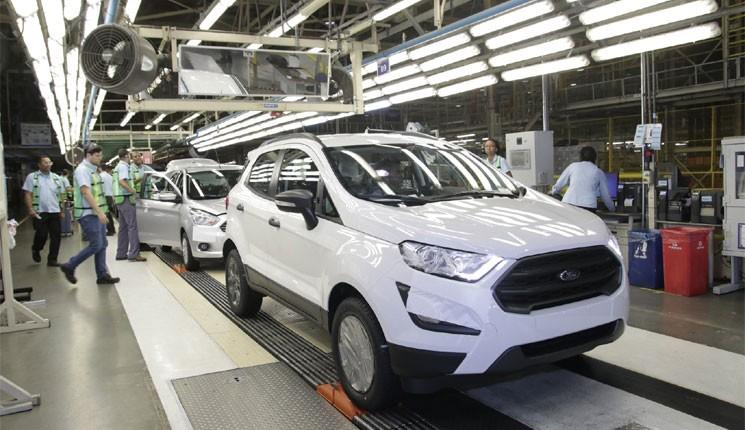 O sistema virtual  fez parte da modernização da fábrica de Camaçari para a produção do EcoSport 2018.