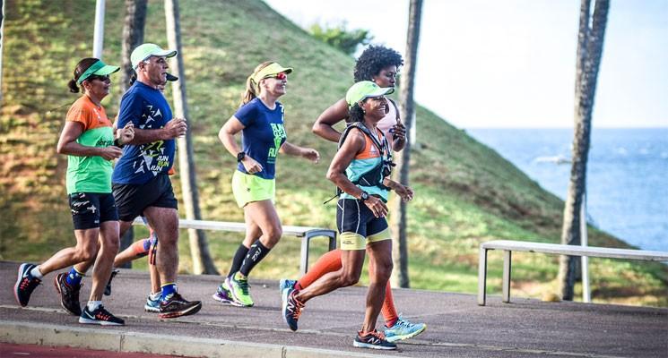 """Competidores participaram do  treinão batizado de """"Run Guga Run"""". (Foto: Alberto Rezak/Divulgação)"""