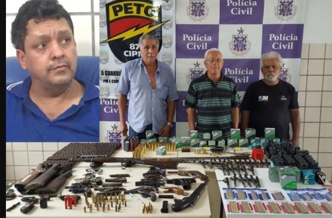 Na ação foram presos em flagrante Oto Moreira Morbeques,   Dourivaldo dos Santos,  Agnelson Ferraz e Ulimar Cardoso Ferraz,  (Foto: SSP/Divulgação)