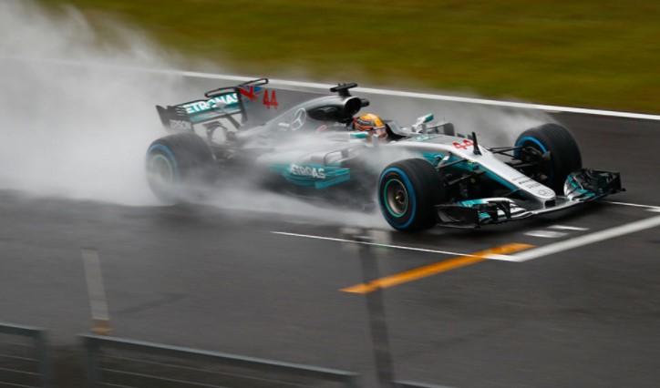 Lewis Hamilton liderou o GP do Japão de ponta à ponta (Foto: Mercedes/Divulgação)