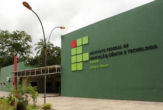 Campi do IFBA em ILhéus, no Sul da Bahia.