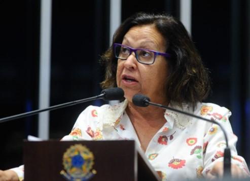 Lídice quer que  sejam garantidos recursos para o programa de revitalização do Rio São Francisco. (Foto: Agência Senado)