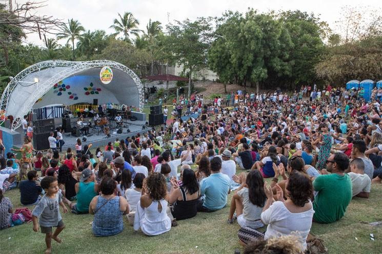 O show de Casé marcou o terceiro final de semana do projeto que leva ao parque atrações nos sábados e domingos.