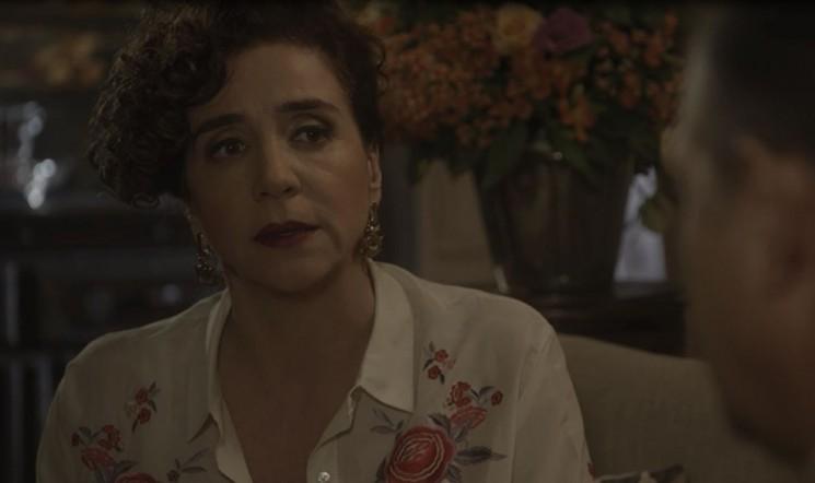 Celeste passa mal novamente (Foto: TV Globo)