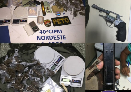 O acusado já tinha passagem pela polícia quando menor, por tráfico de drogas. (Foto: SSP/Divulgação)