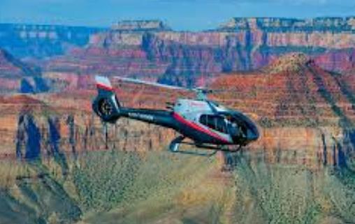 Três pessoas morrem em queda de helicóptero no Grand Canyon
