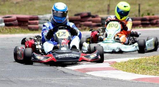 Segunda etapa do Baiano de Kart será no domingo, dia 3, em Lauro de Freitas