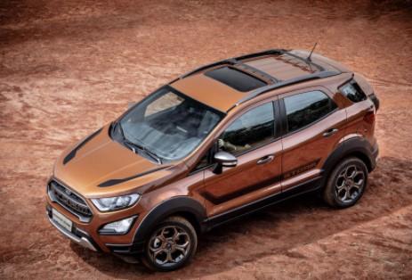 Ford EcoSport Storm:  nova cor valoriza os planos e ângulos do veículo.