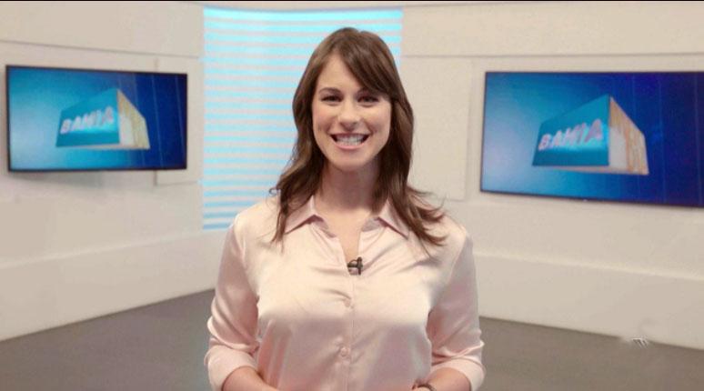 Jéssica Senra estreia hoje na TV Bahia diante de muita expectativa