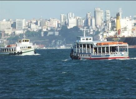 Após período de maré baixa, travessia  Salvador-Mar Grande opera sem restrições