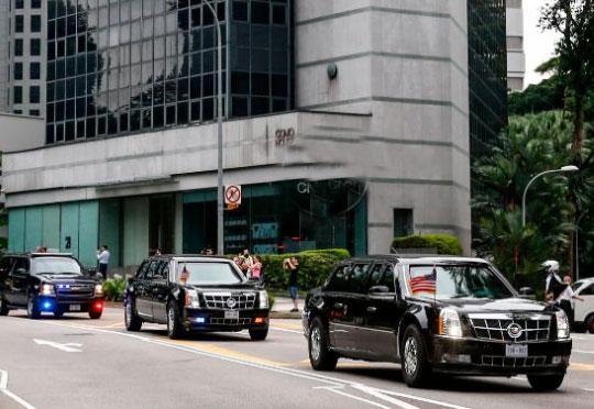 Donald Trump e Kim Jong-un fazem reunião histórica em Singapura