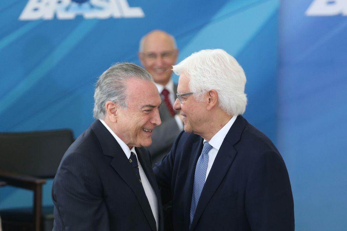 MPF pede que Temer e Moreira voltem para a prisão