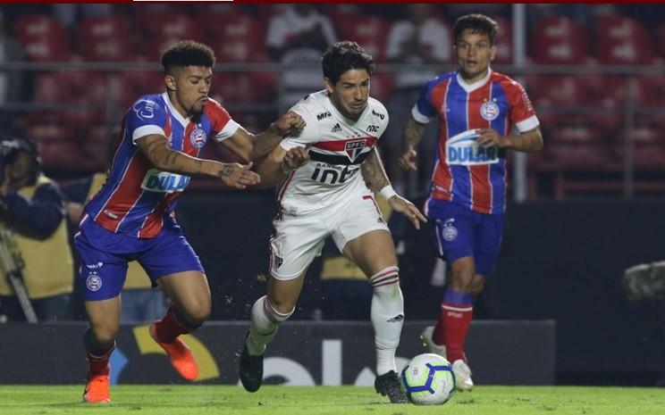 Bahia bate o São Paulo no Morumbi e fica com boa vantagem para jogo de volta