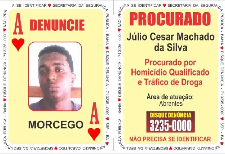 Polícia prende o 'Ás de Copas' do Baralho do Crime da SSP