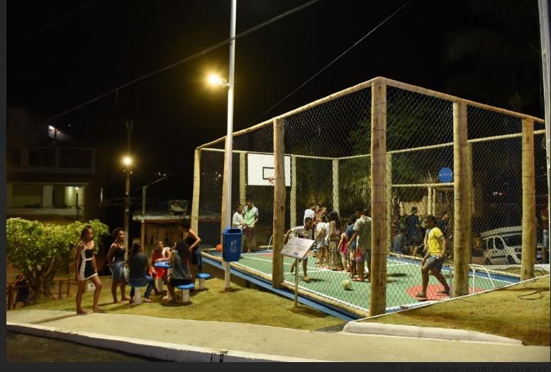 Prefeitura entrega espaço de lazer à comunidade do Bosque Real