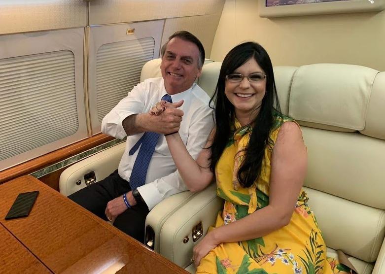 Dayane Pimentel diz que o Nordeste e a Bahia conquistarão autonomia com Bolsonaro
