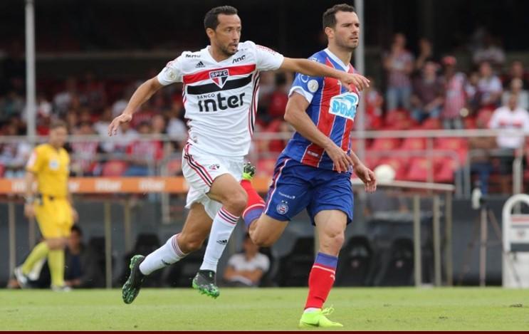 Bahia empata em 0 a 0 com o São Paulo no Morumbi em jogo equilibrado