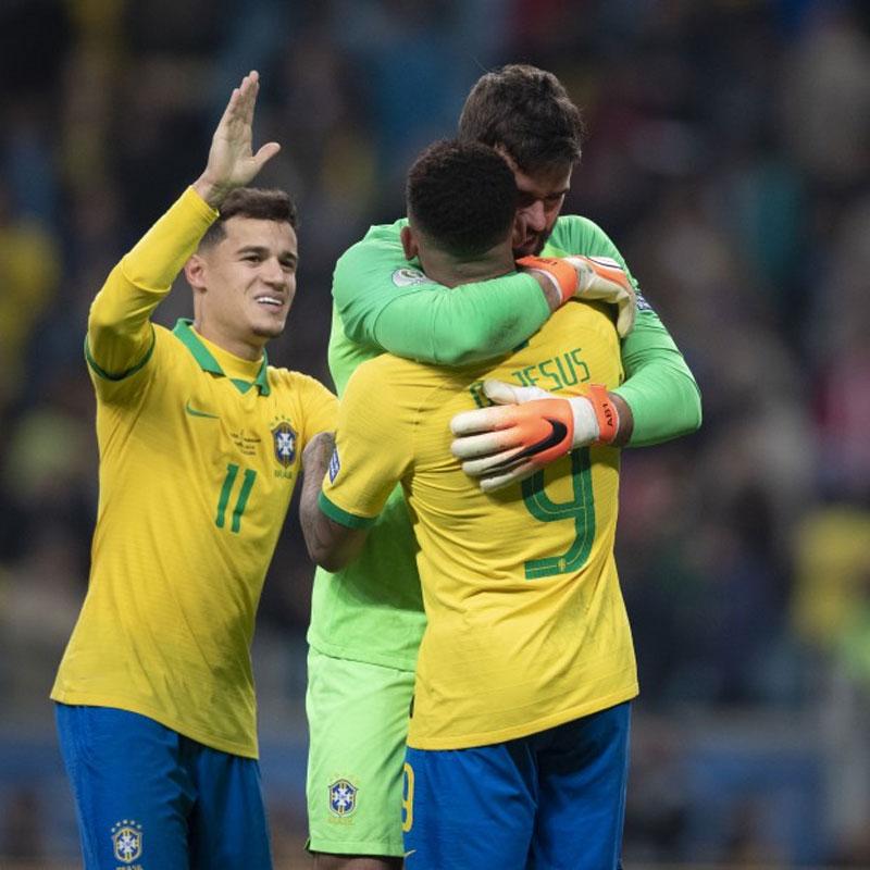Brasil x Paraguai, pênalti perdido do Neymar !! - YouTube