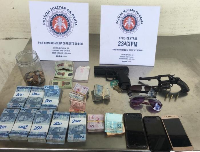 Polícia localiza com rapidez assaltantes de farmácia na Estrada das Barreiras - Jornal da Mídia